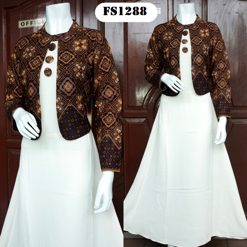 Jual Baju Pesta Batik Online Fika Shop